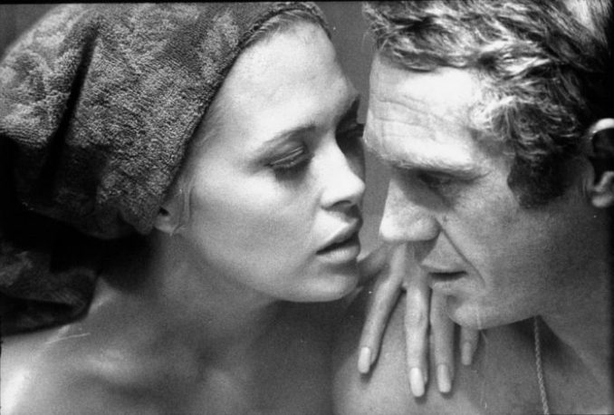 Faye Dunaway and Steve McQueen rehearsing on set for the Thomas Crown Affair, 1967 Photograph: The Life Picture Collection/The Life Picture Collection via Getty Images