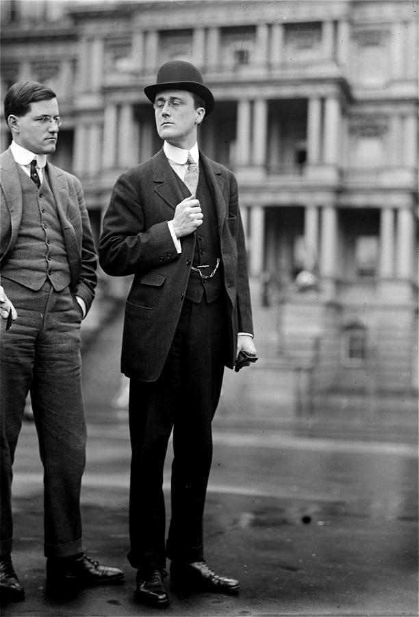 Franklin Delano Roosevelt in 1913