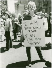 Gay pride, 1970. USA