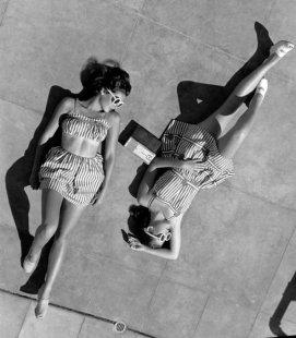 Gene e Patricia Tierney, anni '40