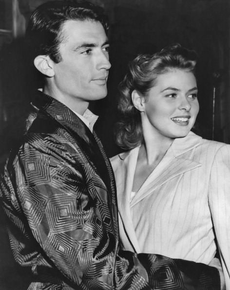 Gregory Peck e Ingrid Bergman. 1945