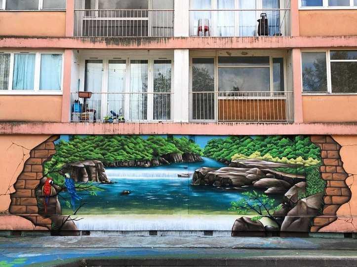 Idem & Mozaik @ Saint-Étienne-du-Rouvray, France