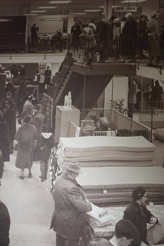Il primo negozio Ikea. Svezia. 1958