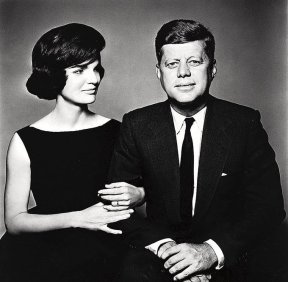 John F. Kennnedy e Jackie