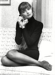La supermodella Paulina Porizkova. 1988