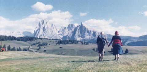 Luigi Ghirri, Alpe di Siusi 1979 © eredi di Luigi Ghirri
