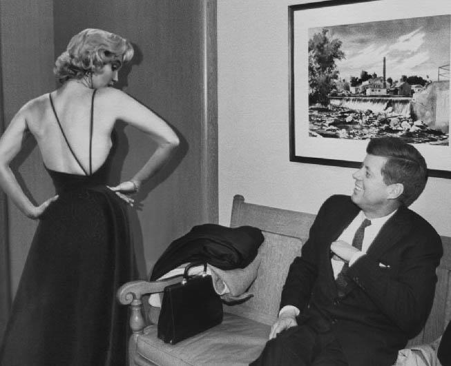 Marilyn Monroe e John F. Kennedy
