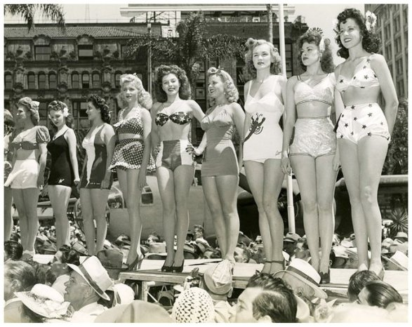 Miss Victory beauty contest, 1942