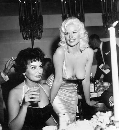 Sophia Loren e Jayne Mansfield