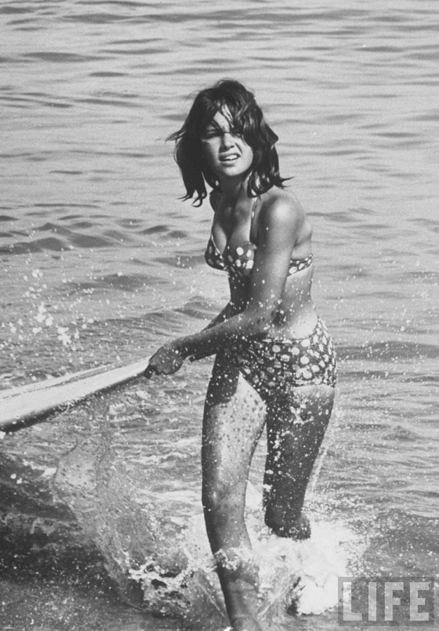 Surfista in California, 1961
