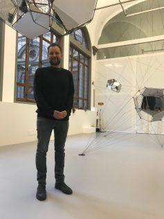 Tomás Saraceno, Palazzo Strozzi, 2020, ph SC, courtesy l'artista e Palazzo Strozzi