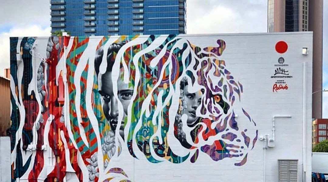 Tristan Eaton + Matthew Eaton @ Honolulu, Hawaii