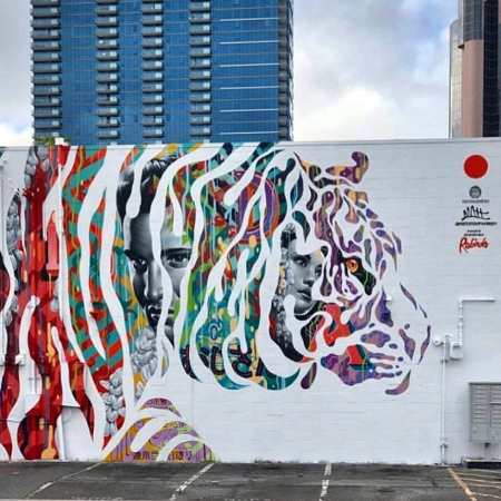 Tristan Eaton + Matthew Eaton @ Honolulu, Hawaii