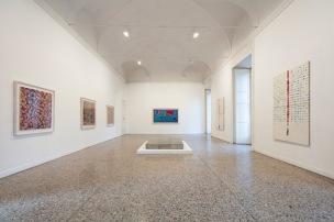 Alighiero Boetti alla Galleria Christian Stein, exhibition view, courtesy Galleria Christian Stein