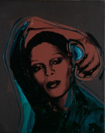 Andy Warhol (1928 – 1987), Ladies and Gentlemen (Iris) 1975, Acrylic paint and silkscreen ink on canvas, 356 x 279 mm, Italian private collection, © 2020 The Andy Warhol Foundation for the Visual Arts, Inc. / Licensed by DACS, London