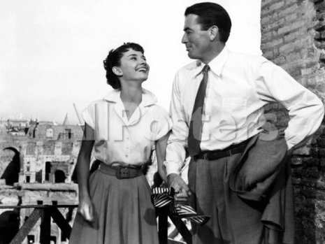 Audrey Hepburn e Gregory Peck