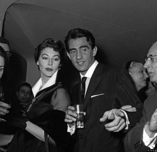Ava Gardner e Walter Chiari, 1960