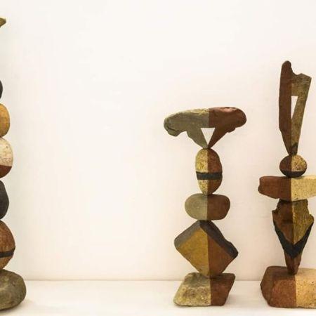 By Barbara Picci. Installation view mostra Stones. Fotografia di Massimiliano Frau