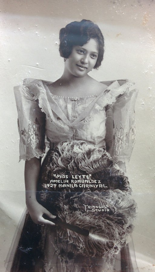 Concorrente di concorso di bellezza filippino, anni '20