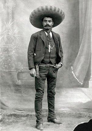 Emiliano Zapata, 1910