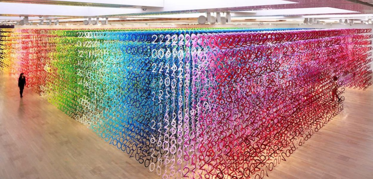 """Forest of Numbers"" by Emmanuelle Moureaux"