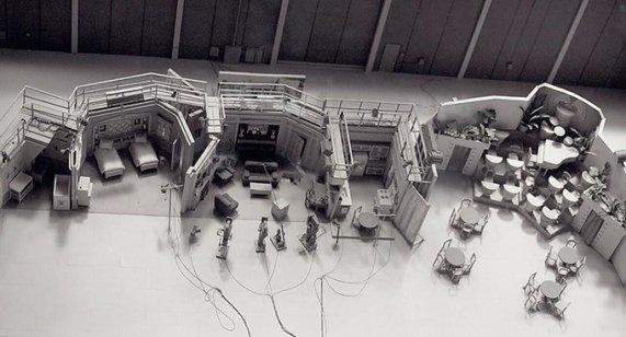 """Foto ambientale dello studio """"I Love Lucy"""""""