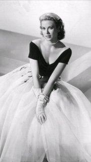 Grace Kelly sul set di 'Rear Window', 1954