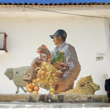 Huansi @ Huántar, Peru
