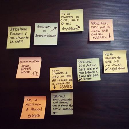 #Iorestoacasa con la mia coscienza: Ricordati di non sprecare la carta [28/03/2020]
