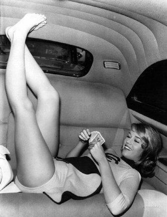 Jane Fonda. 1958
