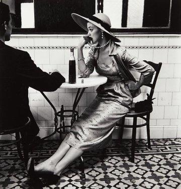 Jean Patchett in un bar di Lima, Peru, 1948