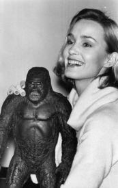 Jessica Lange e King Kong, 1976