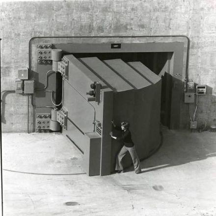 La più grande porta di caveau del mondo