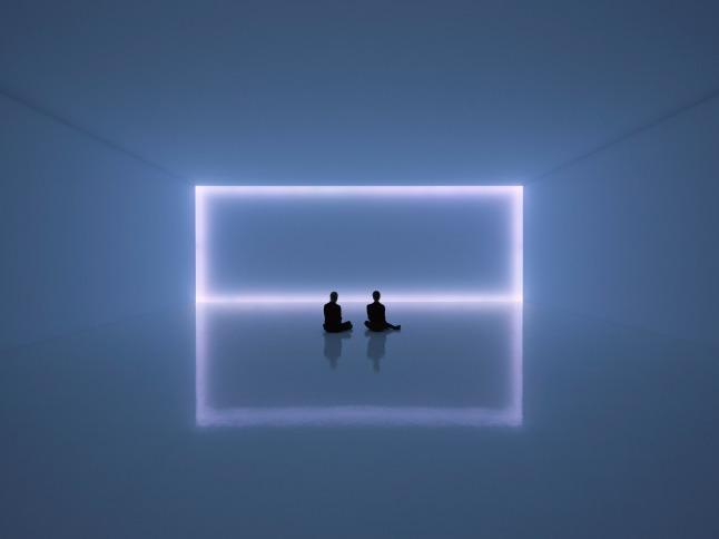 Installation view, Doug Wheeler, 49 Nord 6 Est 68 Ven 12 FL, David Zwirner, New York, 2020