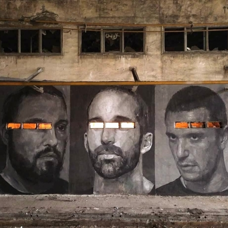Pablo Zabala + Jorge Charrua + Pablo Astrain @ Bilbao, Spain