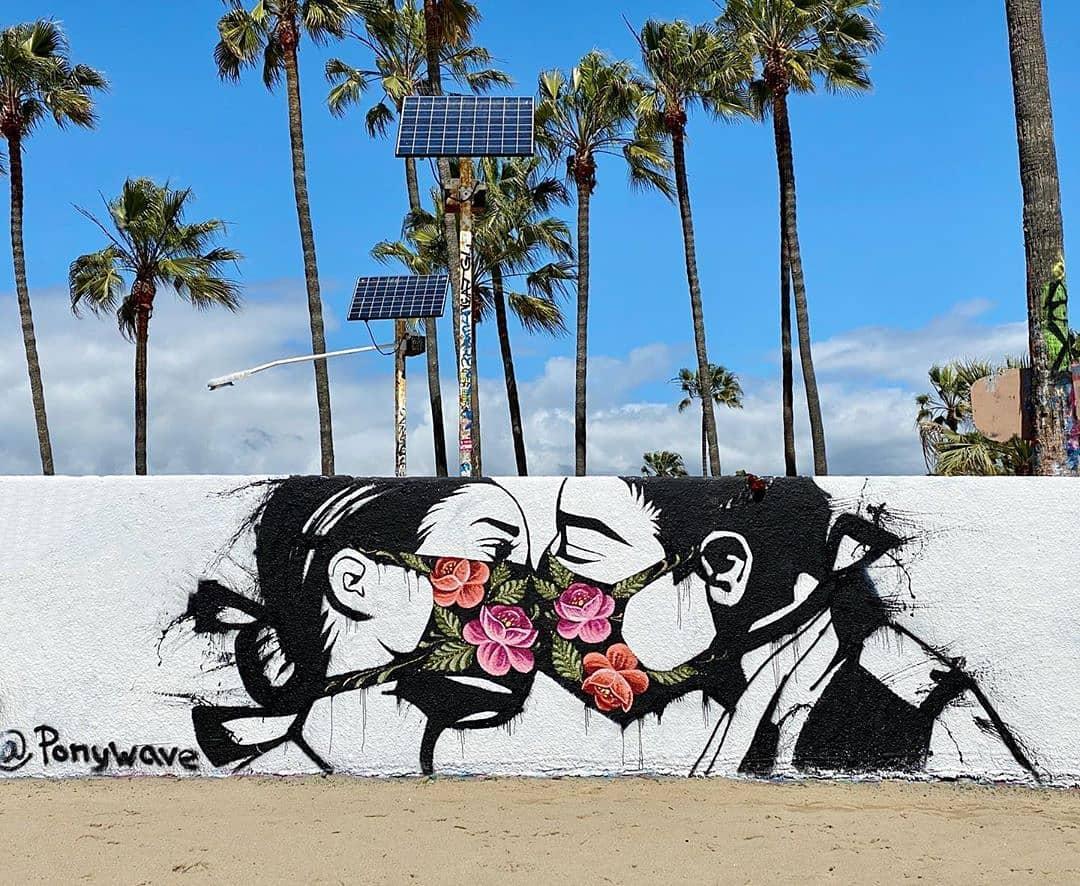 Pony Wave @ Venice Beach, Los Angeles, USA