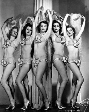 Showgirl nel 1939