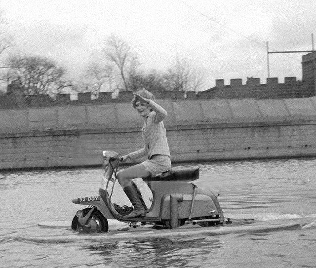 La Lambretta Amphi-Scooter (1968)