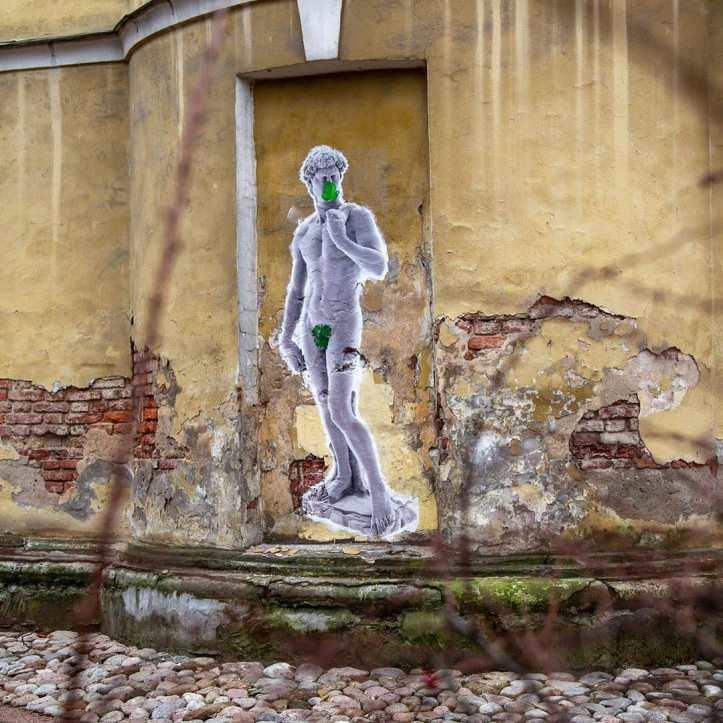 Urban Fresco @ Saint Petersburg, Russia