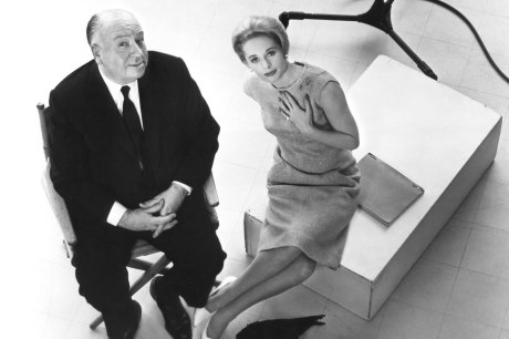 Alfred Hitchcock e Tippi Hedren