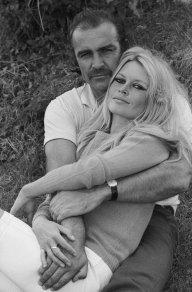 Brigitte Bardot e Sean Connery, 1968