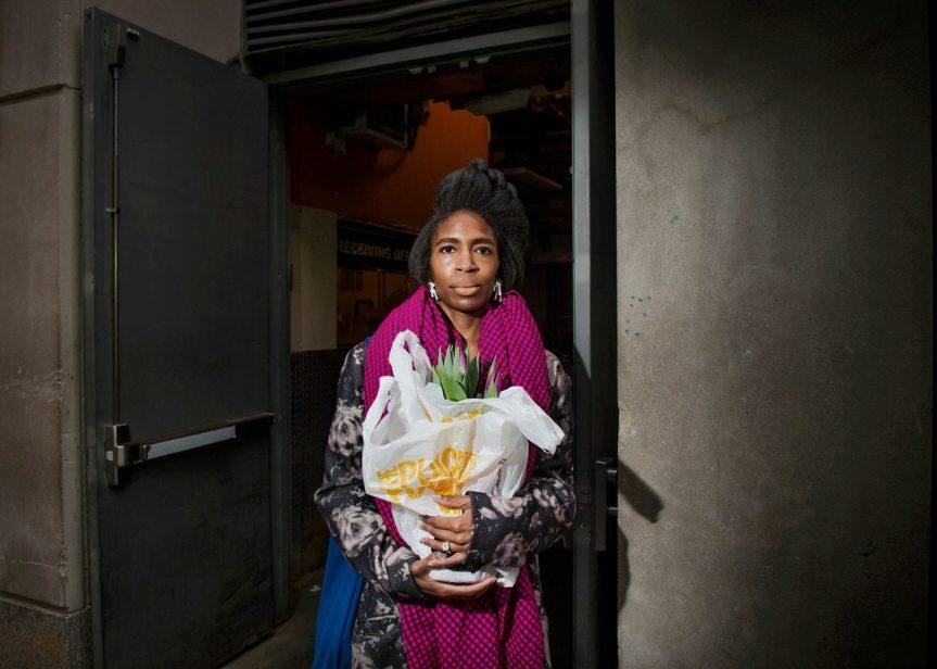 Clemmie Faust, April Hunt, trentotto anni, dj Fairway, Upper East Side. Fotografia di Dina Litovsky