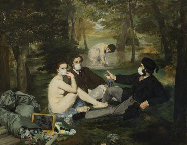 """""""Colazione sull'erba nel 2020"""" by Daniele Zavaglia"""