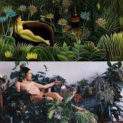 Henri Rousseau - The Dream by Anya Budzyak @budzyak