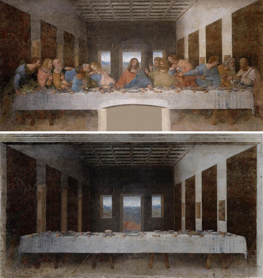 """L'ultima cena"" di Leonardo da Vinci (1498) by José Manuel Ballester"