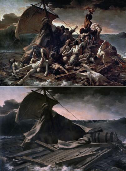 """""""La zattera della Medusa"""" di Théodore Géricault (1819) by José Manuel Ballester"""