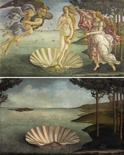 """""""La nascita di Venere"""" di Sandro Botticelli (c.1486) by José Manuel Ballester"""