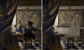 """L'Allegoria della pittura"" di Jan Vermeer (1668) by José Manuel Ballester"