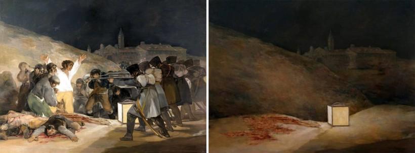 """""""Il terzo di maggio 1808"""" di Francisco Goya (1814) by José Manuel Ballester"""