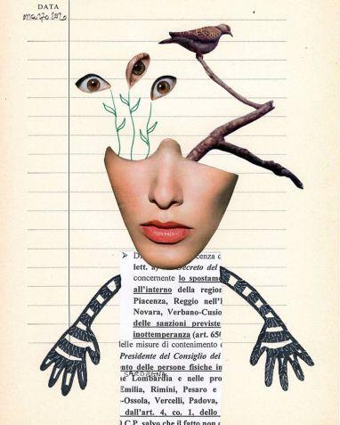 Laura Saddi. Diario della quarantena. Instagram: @catigno.79